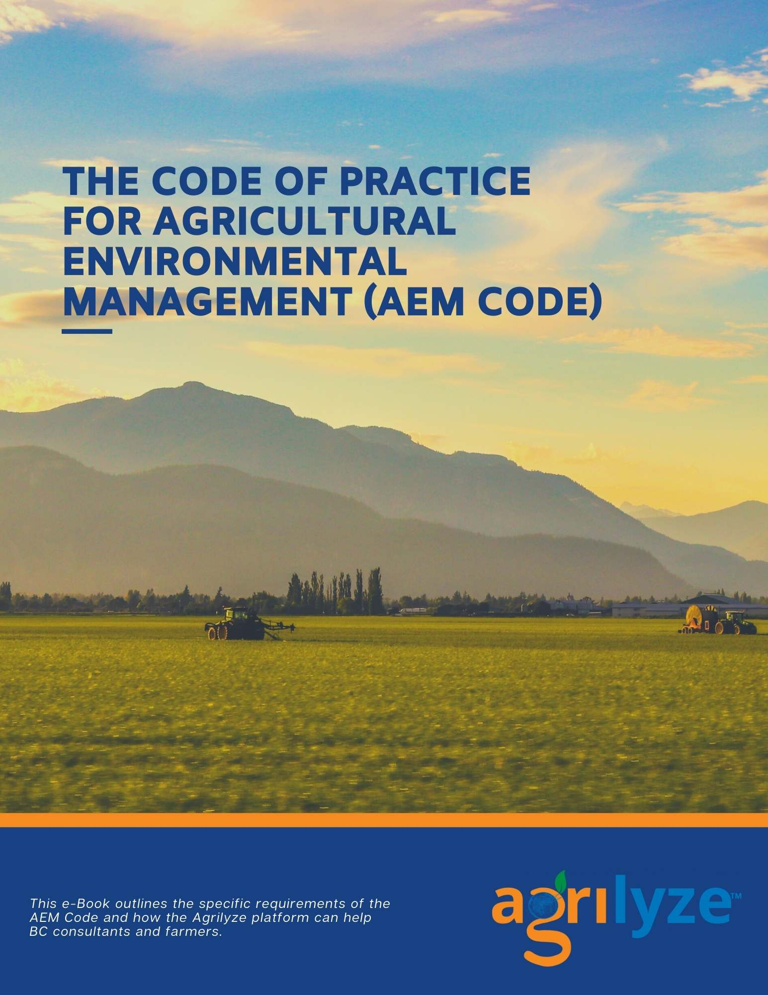 The Code of Practice for Agricultural Environmental Management e-book cover